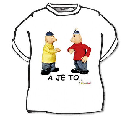 Tričko Pat a Mat (A je to), XL