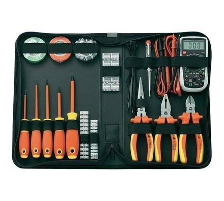 Sada nástrojov pre elektrikárov Toolcraft, 50ks, Conrad