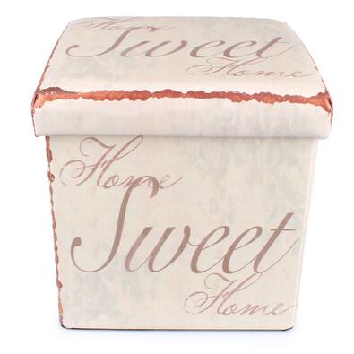 Skládací sedací box Sweet home