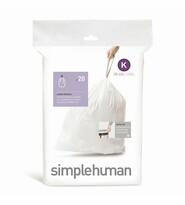 Simplehuman Vrecia do odpadkového koša K 35-45 l, 20 ks