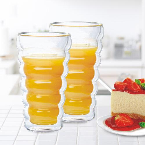 4Home Termo sklenice Bubble Hot&Cool 310 ml, 2 ks