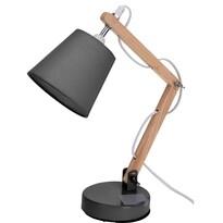 Stolná lampa Pastel tones sivá, 45 cm