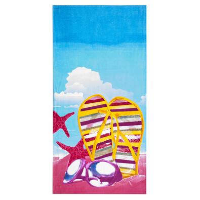 4Home Plážová osuška Pobřeží, 75 x 150 cm