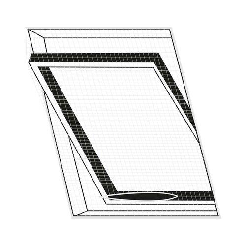 Orion tetőablak szúnyogháló, fekete, 120 x 140 cm
