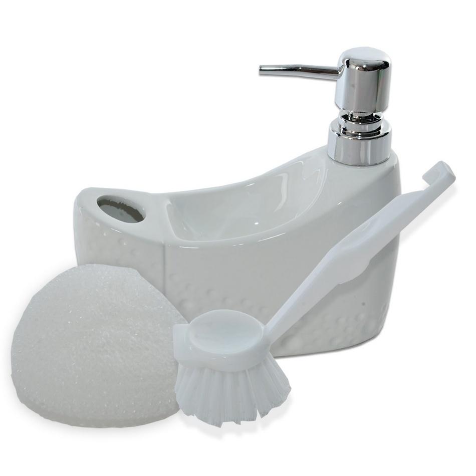 Orion Dávkovač mýdla Pearl, bílá