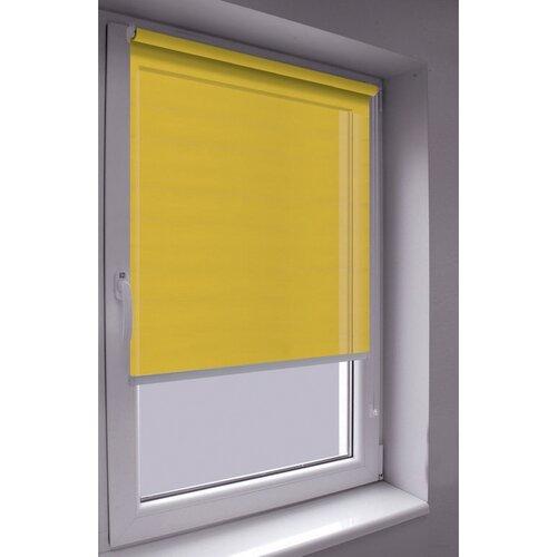 Roleta Mini Words žltá, 42,5 x 140 cm