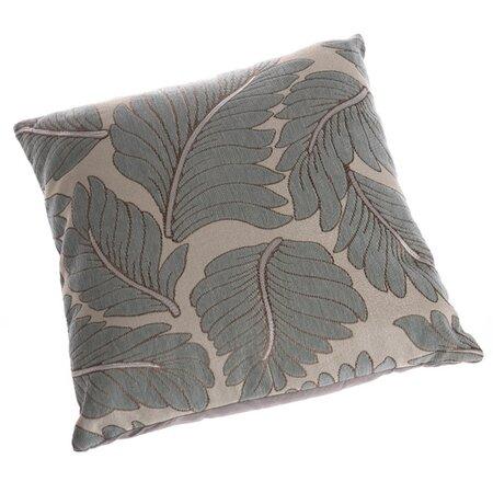 Povlak na polštářek Palmový list zelená, 40 x 40 cm