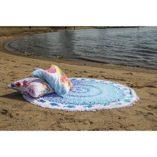HIP Ręcznik plażowy okrągły Julia, śr. 160 cm