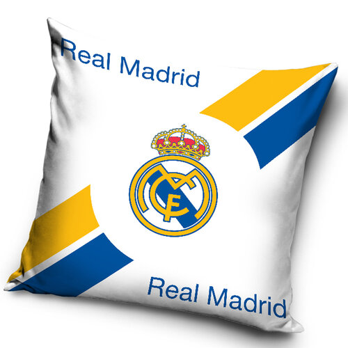 Tip Trade  Vankúšik Real Madrid Erb, 40 x 40 cm