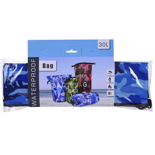 Voděodolný vak modrá, 30 l