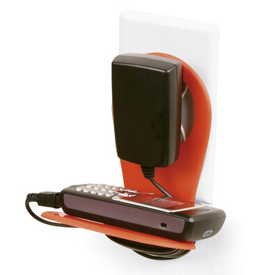 Držák mobilu oranžový