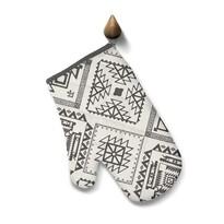 Domarex Kuchyňská chňapka Indiana Aztec šedá, 17 x 28 cm