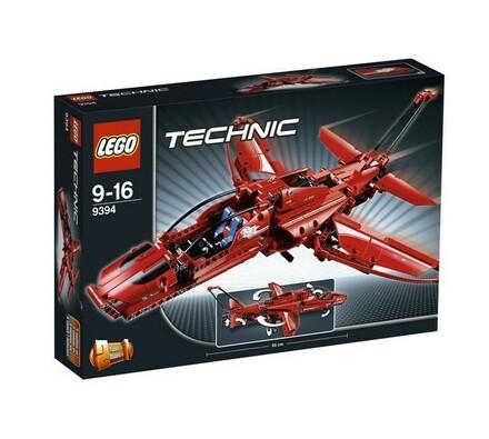 Lego Technic Tryskáč, červená