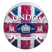 Plechová dóza London