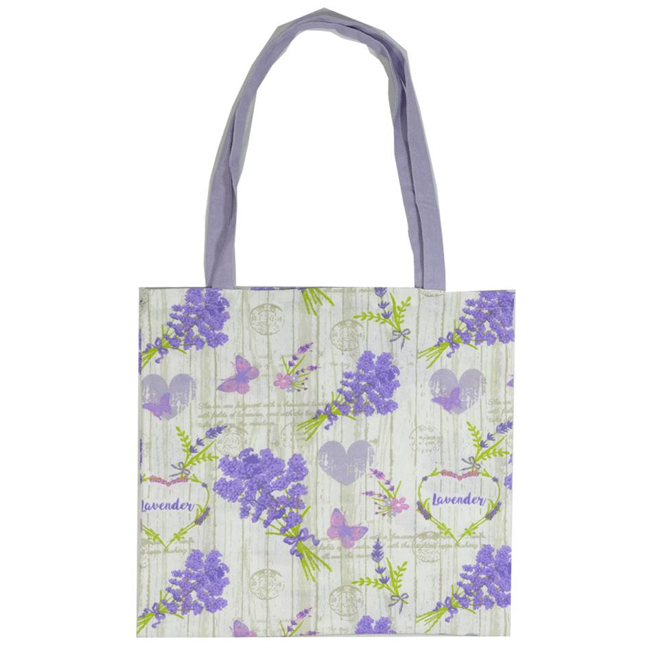 Trade Concept Nákupní taška Levandule, 40 x  42 cm