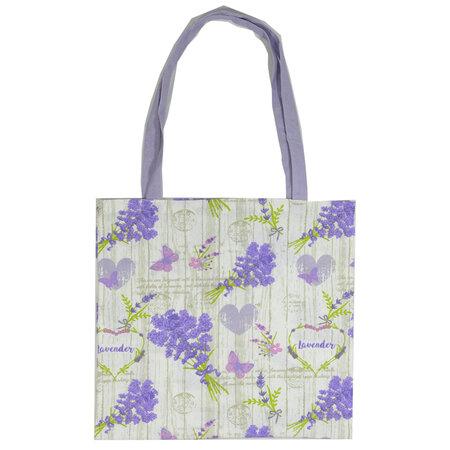 Nákupní taška Levandule, 40 x  42 cm