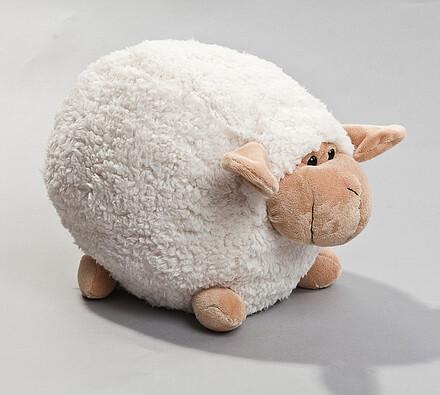 Ovečka, velká, bílá