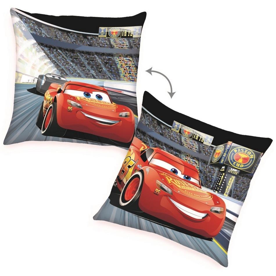 Herding Polštářek Cars McQueen, 40 x 40 cm