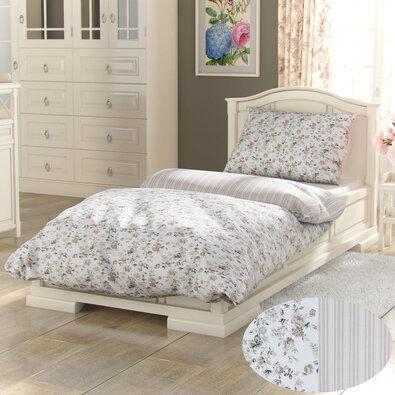 Kvalitex Provence Viento pamut ágynemű, bézs, 240 x 200 cm, 2 db 70 x 90 cm
