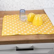 Podložka na nádobí Ultra žlutá, 40 x 48 cm
