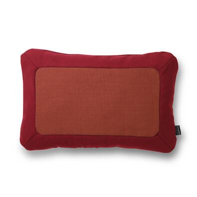 Normann Copenhagen Polštářek Frame 40 x 60 cm, červený