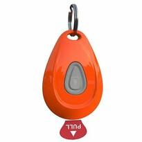 Ultrazvukový odpudzovač kliešťov a bĺch ZeroBugs, oranžová