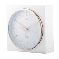 Lowell JA7070B Stolné hodiny s funkciou budíka 16 x 16 cm