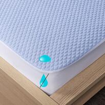 4Home Chladicí nepropustný chránič matrace s lemem