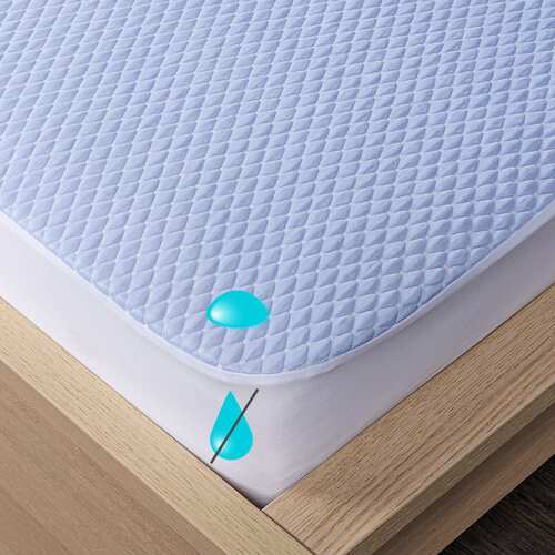 4Home Cooler Körgumis vízhatlan hűsítő matracvédő, 90 x 200 cm + 30 cm