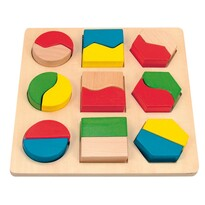 Woody lemez geometriai alakzatokkal