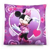 Polštářek Minnie, 40 x 40 cm, fialová