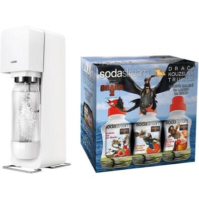 Sodastream White Le Dragon výrobník sody  sada 6v1