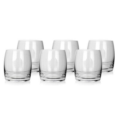 Banquet Crystal Komplet szklanek do whisky Leona 280 ml, 6 szt.