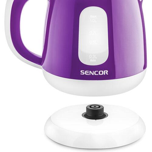 Sencor SWK 1015VT rychlovarná konvice, fialová