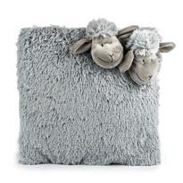 Bárányka szürke párna, 35 x 35 cm