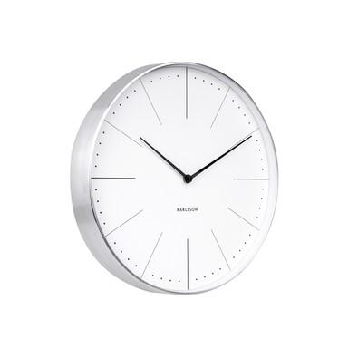 Karlsson 5681WH Designové nástěnné hodiny 1490816a38