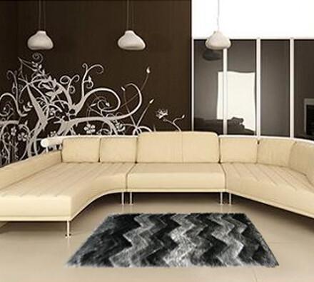 Kusový koberec Istanbul S3630, černá, 140 x 200 cm