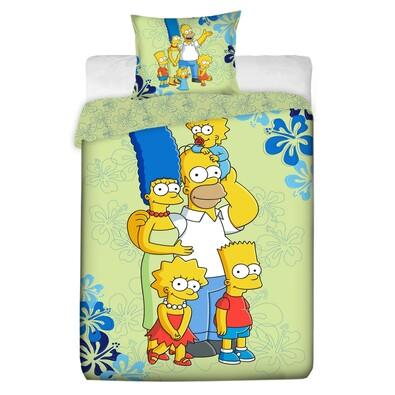Bavlněné povlečení Simpsons 2016, 140 x 200 cm, 70 x 90 cm