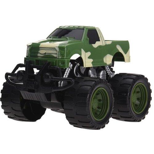 Monster truck zelená, 13 cm