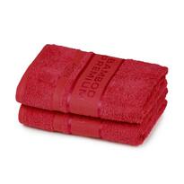 4Home Bamboo Premium ręcznik czerwony, 50 x 100 cm, zestaw 2 szt.