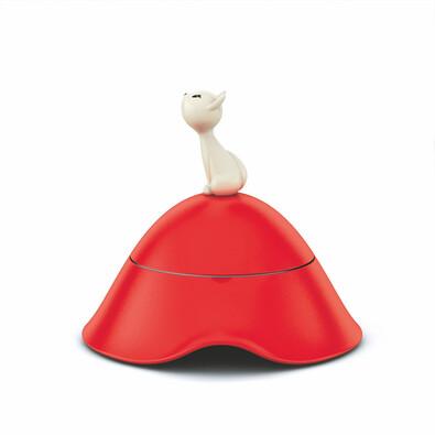 Miska pro kočky Mió 250 ml, červená