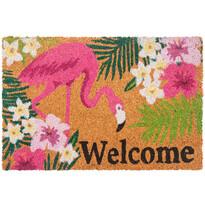 Kokosová rohožka Flamingo, 40 x 60 cm