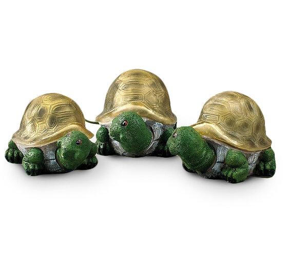 4Home Solárne korytnačky, 3 kusy