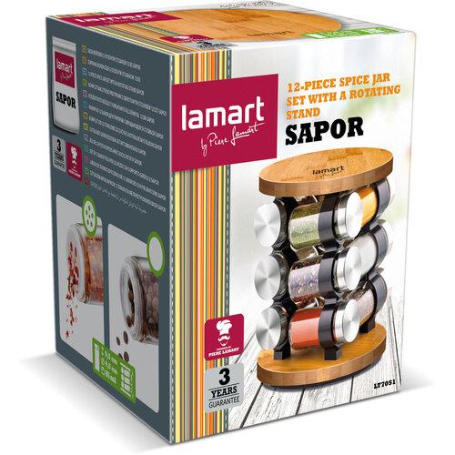Lamart LT7051 12-dielna sada koreničiek Sapor