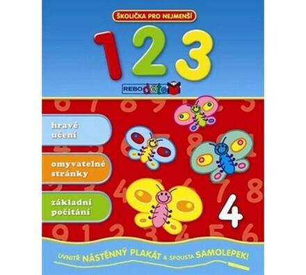 Školička 1,2,3, vícebarevná