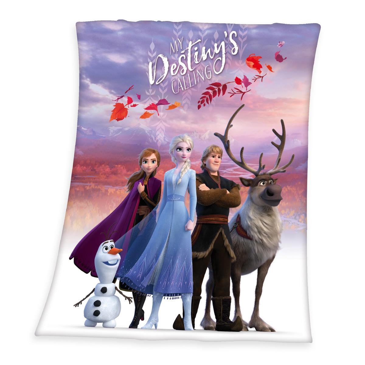 Koc dziecięcy Frozen 2 My destiny's calling, 130 x 160 cm