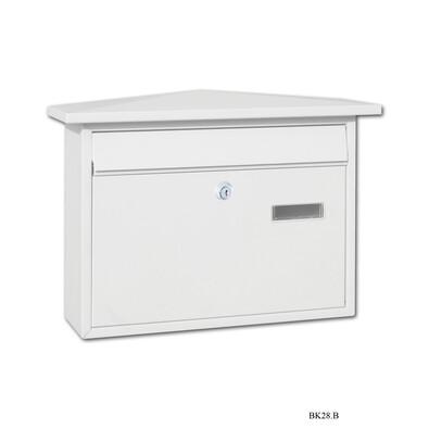 Poštovní schránka bílá