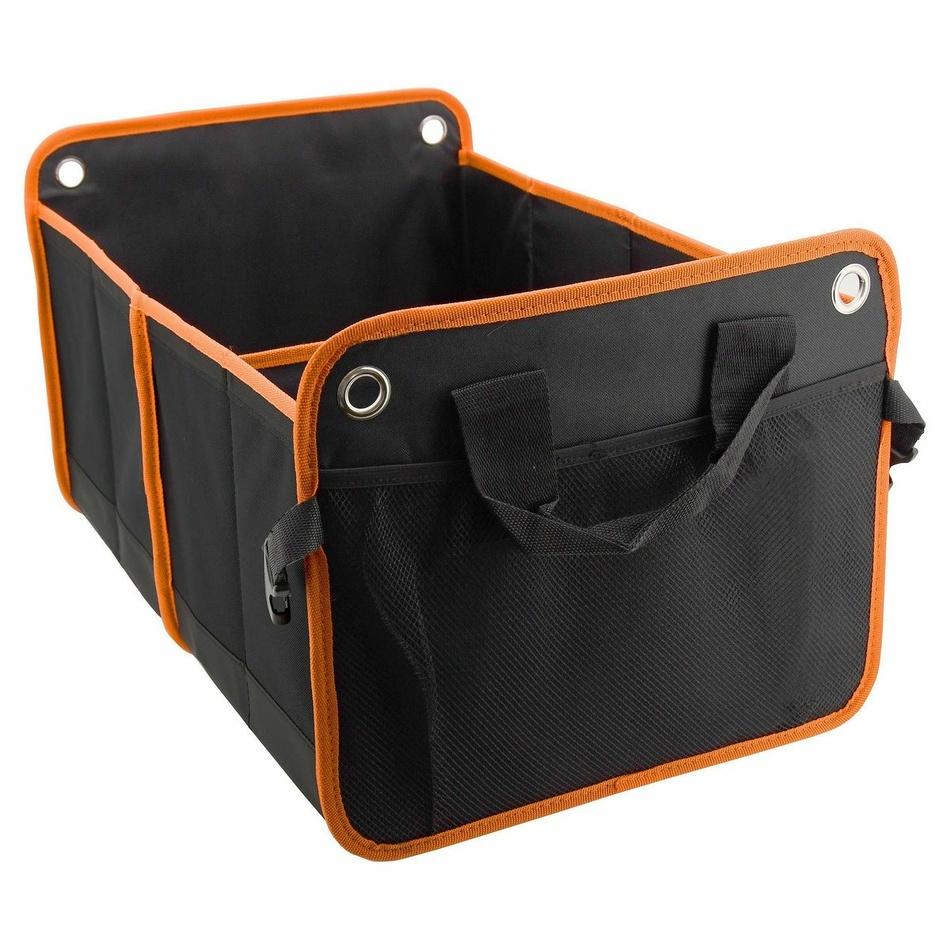 Compass Organizator dublu pentru portbagaj Orange, 54 x 34 cm imagine 2021 e4home.ro