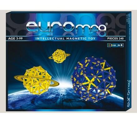 Magnetická stavebnice Euromag - 240 dílků