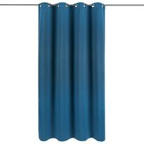 Zasłona zaciemniająca Arwen niebieski,  140 x 245 cm